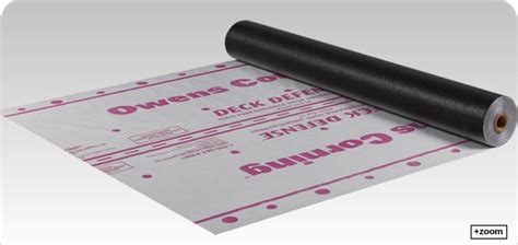 owens corning roofing deck defense high performance roof underlayment