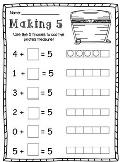 Theory Substruction Paper Template by Friends Of 10 And Friends Of 5 Making 10 And Making 5