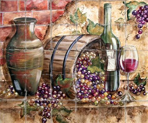 Home Interior Grape Picture : Wallpaper Wine Theme
