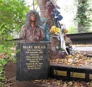 The Backroom | MARC BOLAN DIED HERE