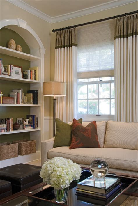 houzz living rooms traditional colonial revival