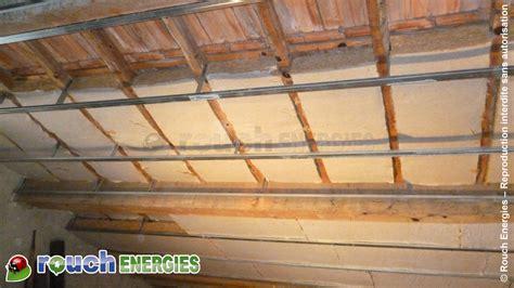 isolation de toiture sous rant en fibre de bois 224 foix