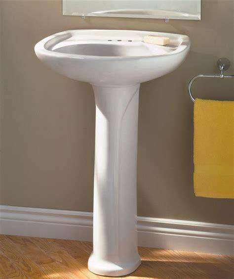 Home Depot Bathroom Sinks Canada by American Standard Marina 4 Inch Bathroom Pedestal Sink