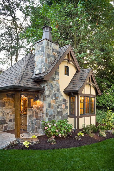 Tudor Style House Plan  1 Beds 1 Baths 300 Sqft Plan #48641