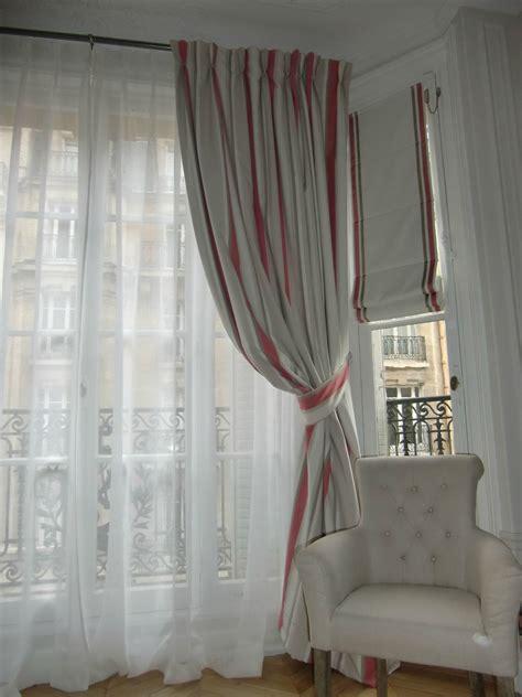 rideaux avec stores assortis photo de les rideaux blanche l a fait