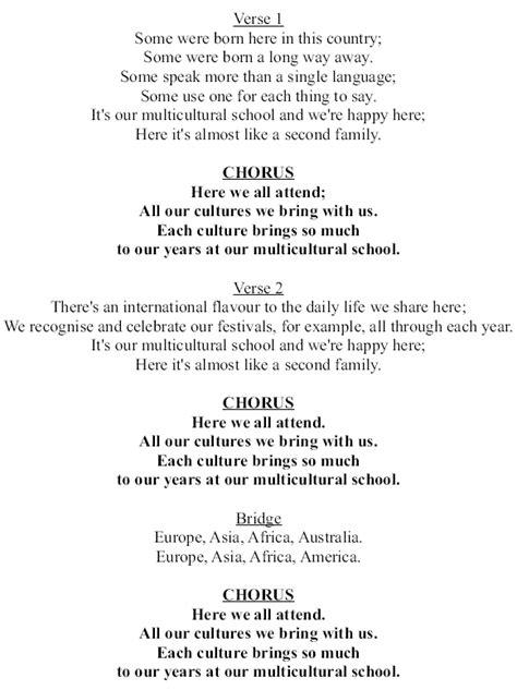 Row Your Boat Lyrics Az by Our Multicultural School Encouraging Appreciation Of