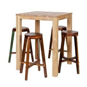 table haute table de bar et bar comptoir pour tous les styles decoclico