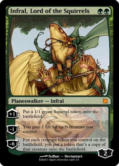 Mtg Squirrel Tribal Deck by Mtg Deckbuilder Infral Deckspert