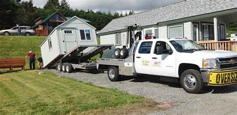 northwest shed movers cabin shed gazebo and barn moving service