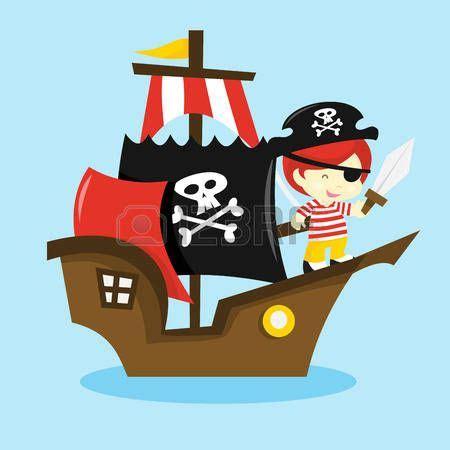 Barco Pirata Ilustracion by Pirata Caricatura Una Ilustraci 243 N Vectorial De Dibujos