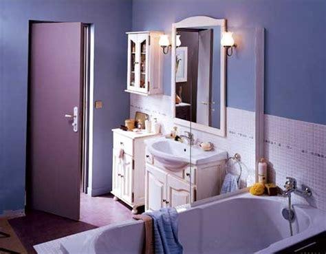 d 233 co salle de bain mauve