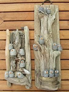 Holz Dekoration Modern : basteln mit holz und steinen ~ Markanthonyermac.com Haus und Dekorationen