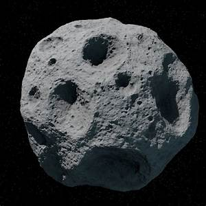 3D Asteroid Rendered - Pics about space