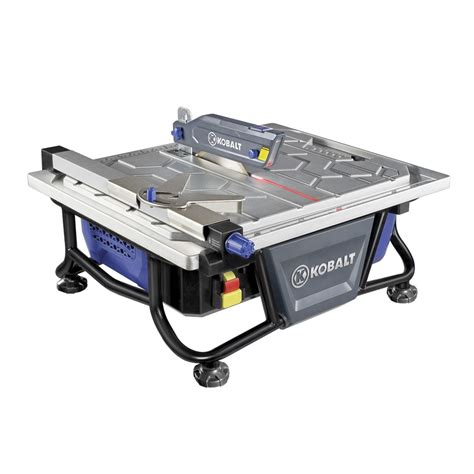 shop kobalt 7 in tabletop tile saw at lowes