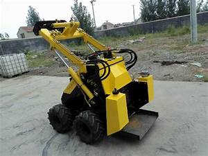 Mini skid steer loader JL300 (gas engine 21HP) - Petros ...