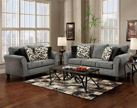 Grey Fabric Modern Sofa & Loveseat Set W/options Contemporary Kitchen Pendant Light Fixtures Cottage Style Tables Pictures Of Kitchens Yellow Wall Islands With Seating Accessories Transitional Rustic Cabinets Pinterest