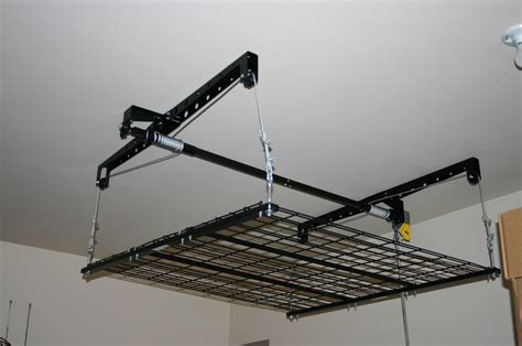 Racor Ceiling Storage Lift by Racor Storage Solutions Review Emily Reviews
