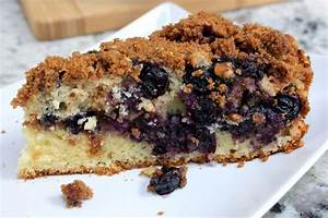 Make a blueberry cinnamon skillet coffee cake for your ...