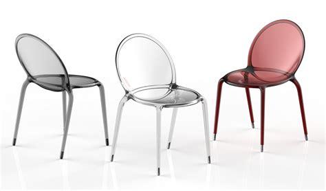 chaise empilable en polycarbonate loop by roche bobois design c 233 dric ragot