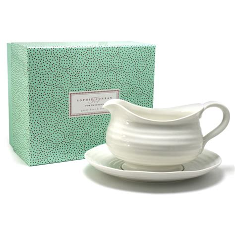 Gravy Boat Peter S Of Kensington by Portmeirion Sophie Conran Gravy Boat Stand Set 2pce