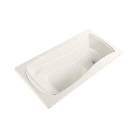 45 ft drop in bathtub kohler mariposa 5 ft reversible drain drop in acrylic