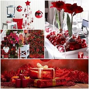Weihnachtsdeko Ideen 2017 : weihnachtsdeko in rot f r eine romantische feststimmung ~ Markanthonyermac.com Haus und Dekorationen