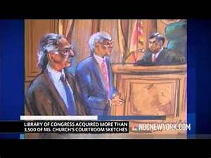Courtroom Artist Marilyn Church - NBC Interview - YouTube