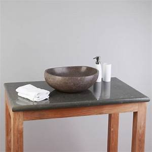 Platte Für Waschtisch : flu stein waschtisch platte grau 80x50x3cm bei wohnfreuden kaufen ~ Markanthonyermac.com Haus und Dekorationen