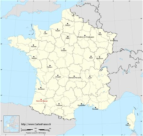 carte mont de marsan cartes de mont de marsan 40000 ou 40090