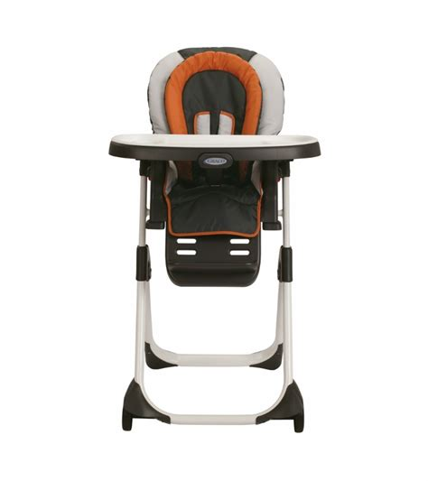 graco duodiner lx high chair tangerine