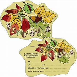 Einladung Kindergeburtstag Wald : einladungen kindergeburtstag ~ Markanthonyermac.com Haus und Dekorationen