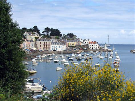 ile en mer ports les photos de bretagne bretagne tourisme et loisirs en bretagne