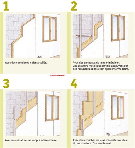 fiche faire isoler les murs par l int 233 rieur le guide de la maison