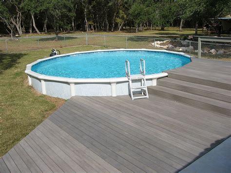 amazing above ground pool deck designs tedxumkc decoration