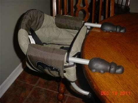chicco cl hook on high chair highchair chair infant portable exc cond ebay
