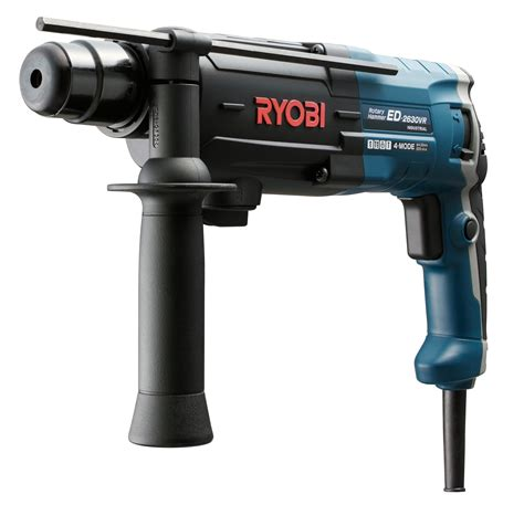 RYOBI 26MM SDS PLUS 4MODE ROTARY HAMMER, 830W, ED2630VR   Corded Drills, Impact Drivers
