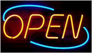 Open BIG Neon Sign [Open-Sign-Big]