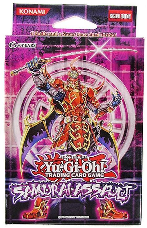 konami yu gi oh samurai assault special edition deck da