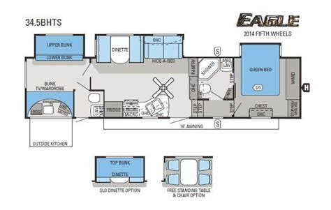 2014 jayco eagle 34 5bhts fifth wheel cincinnati oh colerain rv dayton cincinnati and