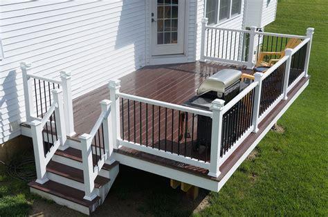 Cute Backyard Deck In Lancaster, Pa  Stump's Decks