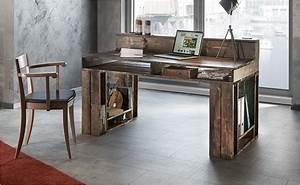 Holz Künstlich Alt Machen : schreibtisch mit verstaufunktion selber bauen anleitung von hornbach ~ Markanthonyermac.com Haus und Dekorationen