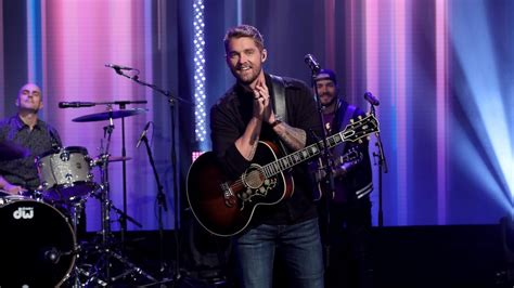 Brett Young Performs