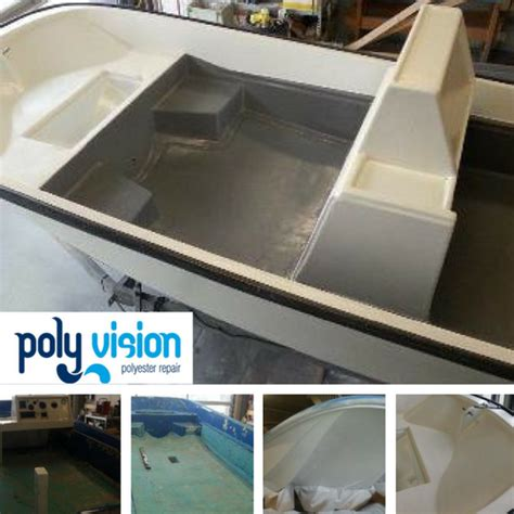 Boot Coating by Polyester Coating Boot Boston Whaler Polyester Reparatie