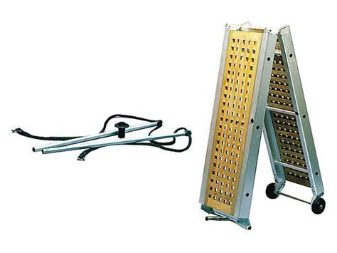 Opvouwbare Aluminium Boot by Boot Loopplanken Aluminium Loopplank Met Teakhout