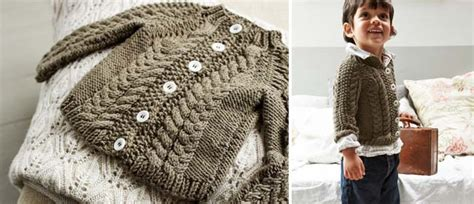 Knit A Toddler's Cardigan