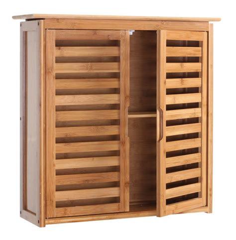 armoire 233 tag 232 re meuble pour salle de bain en bambou 60x60x20cm sdb04013 salle de bain wc