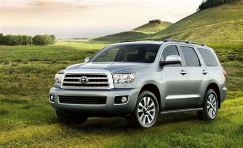 2019 Toyota Sequoia Completly Redesigned Suv Returns A