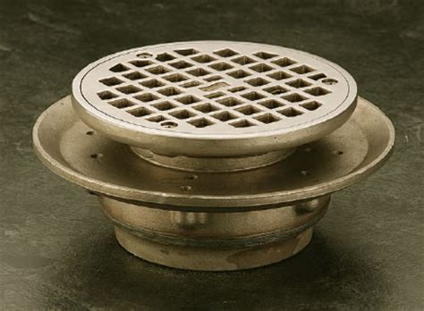 floor drains with adjustable strainer r smith mfg co