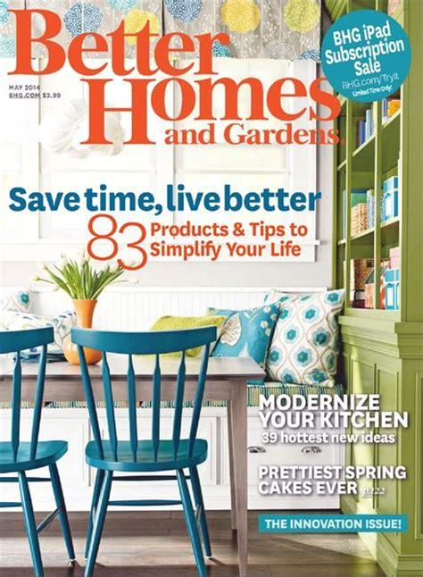 Better Homes Gardens Magazine better homes and gardens may 2014 pdf magazine