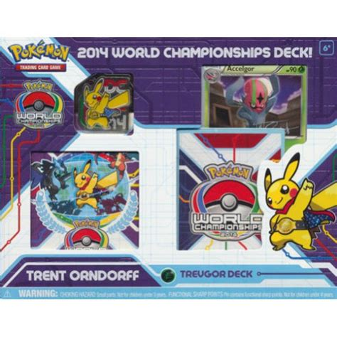 2014 world chionships deck trent orndorff trevgor deck sealed products 187